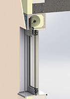 Venkovní rolety: BAT-G 3D řez